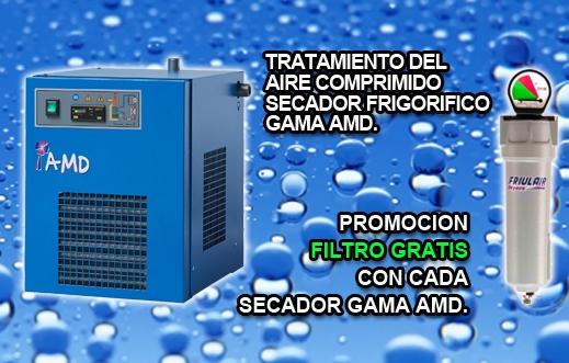 PROMOCION  SECADOR GAMA AMD 108