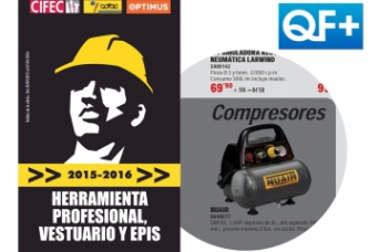 El Compresor New Vento Nuair en el folleto QF+ pro...