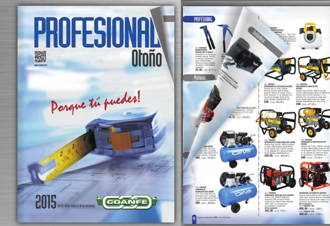 Airum Compresores profesional portatil en COANFE 100