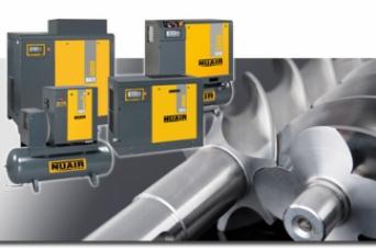 Nueva Gama Compresores de Tornillo Nuair