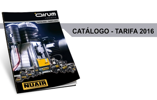 Nuevo Catalogo Tarifa Airum Compresores Nuair 93