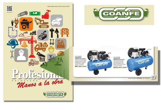 Compresores airum en folleto Coanfe 80