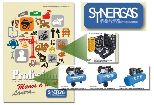 Airum Compresores profesional en SYNERGAS 81