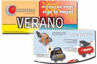 Compresores Nuair en el nuevo folleto CECOFERSA Ve...