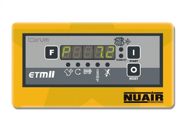 Control electronico tornillo ETMII Nuair 71
