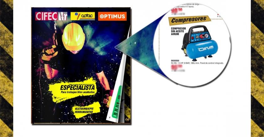 NewVento Airum en Folleto QF+ Cofac Cifec 59