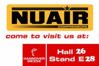 Nuair en Hannover 2017 del 24 - 28 Abril