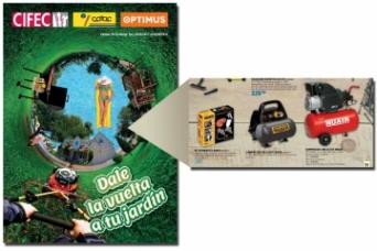 Nuair compresores en el folleto QF+ Cofac Cifec pr...