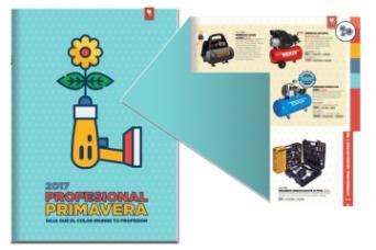 Comafe - Ferrokey Nuevo folleto profesional primav...