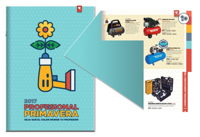 Comafe - Ferrokey Nuevo folleto profesional primavera con compresores Nuair  Airum 45