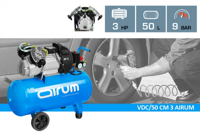 Nuevo Modelo EN V : VDC/50 CM3 AIRUM 40