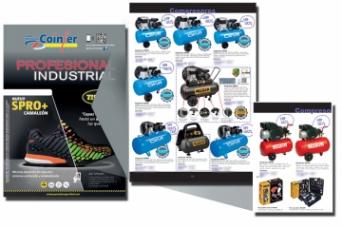 Nuevo folleto Coinfer con compresores Airum Y Nuai...