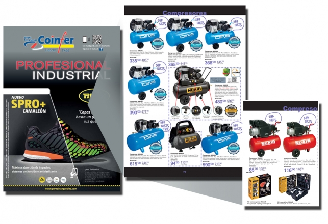 Nuevo folleto Coinfer con compresores Airum Y Nuair 35