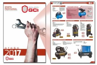 Nuevo folleto GCI profesional 2017