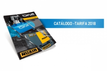 Presentamos Catalogo Tarifa 2018