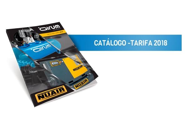 Presentamos Catalogo Tarifa 2018 14