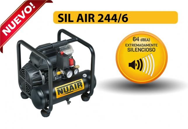 Nuevo compresor silencioso SIL AIR 244 6 de Nuair 12