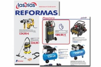 Nuevo folleto Las Rias REFORMAS 2018