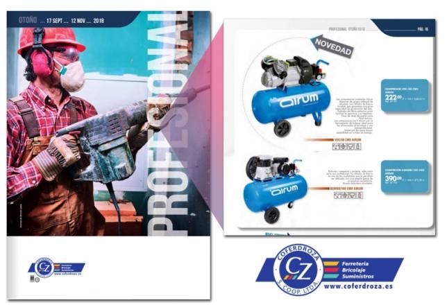 folleto COFERDROZA OTONO 2018 CON COMPRESORES AIRUM 8