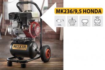 Nuevo motocomprersor modelo MK236-9,5 HONDA Nuair