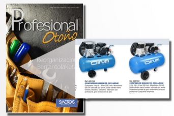 Nuevo folleto Synergas profesional otoño