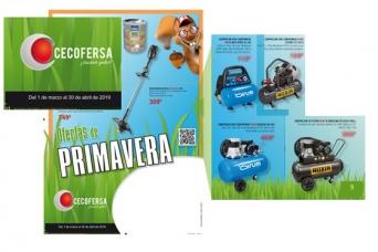 Nuevo folleto CECOFERSA Primavera 2019