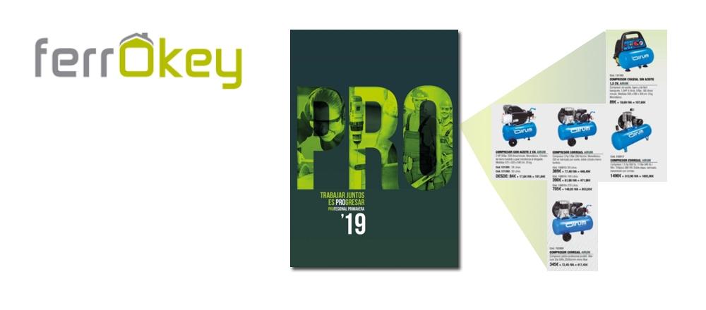 Nuevo folleto Profesional primavera Comafe con  compresores Airum 170