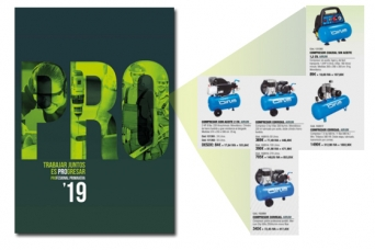 Nuevo folleto Profesional primavera Comafe con  co...