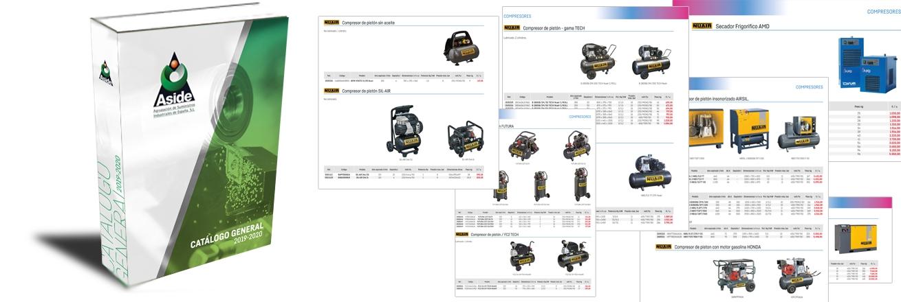 Catalogo ASIDE 2019 - 2020 con nuestra gama de compresores Nuair 173