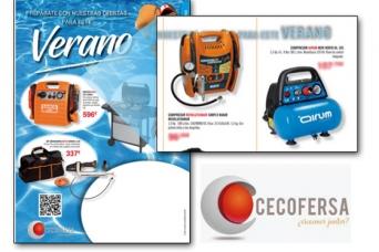 Nuevo folleto CECOFERSA Verano 19 , con los compre...