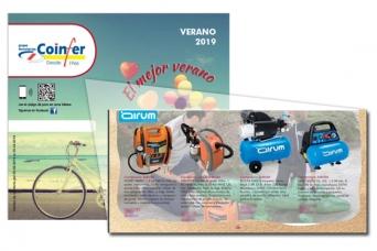 Nuevo folleto Coinfer cooperativa ferreteros Veran...