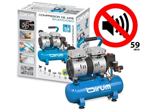 New Siltek Airum Silent compressor
