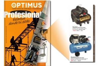 Nuevo folleto Coanfe Optimus profesional 2019