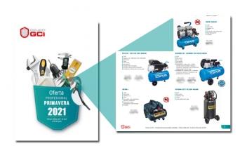 Nuevo folleto GCI con compresores Airum y Nuair