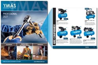Nuevo folleto YMAS Otoño PROFESIONAL 2021