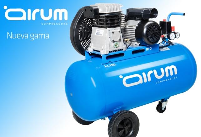Airum Nueva Gama compresores de Piston 123