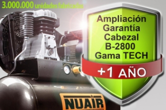 Ampliacion garantia B2800 TECH NUAIR
