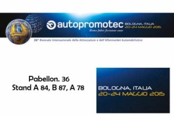 Nuair en Proxima feria Autopromotec Bolonia