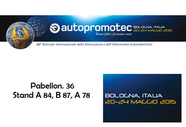 Nuair en Proxima feria Autopromotec Bolonia 118