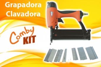 Grapadora Clavadora Kit Comby