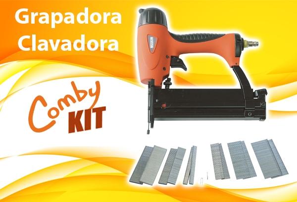Grapadora Clavadora Kit Comby 129