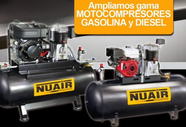 Ampliamos gama motocompresores Gasolina y  Diesel 139