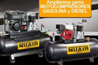 Ampliamos gama motocompresores Gasolina y  Diesel