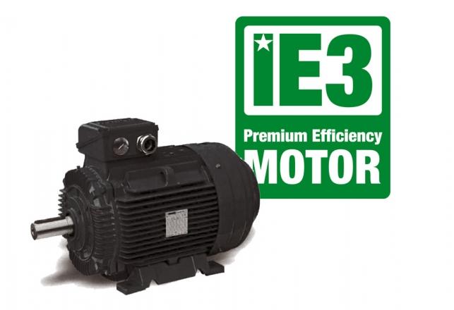 Motores electricos IE3 Premium Efficiency 92