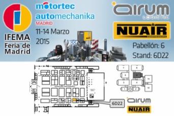 Airum Nuair en Motortec Marzo 2015