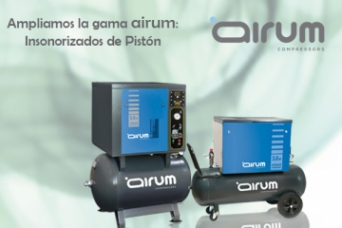 Compresores de piston insonorizado gama AIRUM