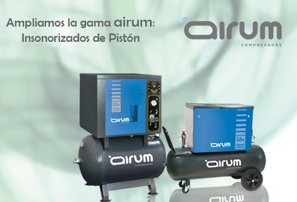 Compresores de piston insonorizado gama AIRUM 116
