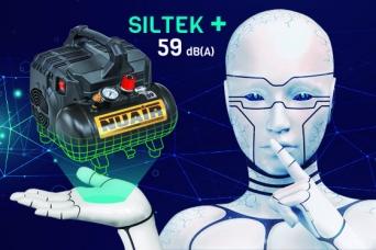 siltek+ compresor extremadamente silencioso