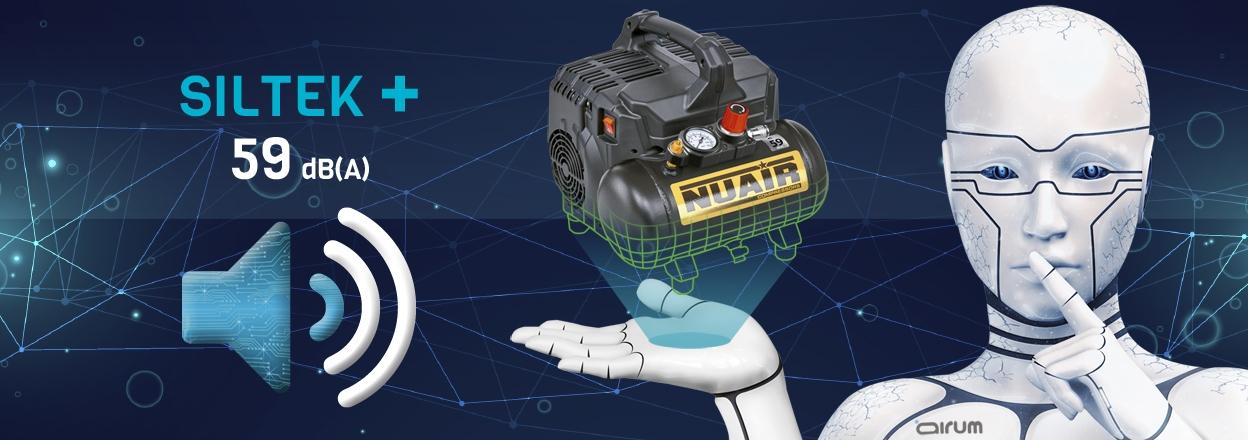 siltek+ compresor extremadamente silencioso 171