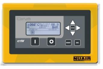 Controlador electronico avanzado ETIV para compres...
